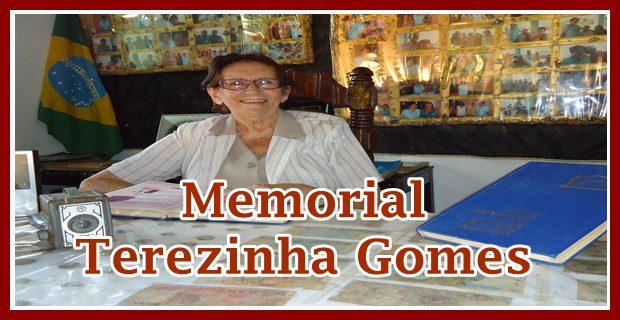 Terezinha Gomes recebe homenagem