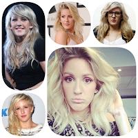 Ellie Goulding e seu cabelo ondulado. Ondulado também faz transição