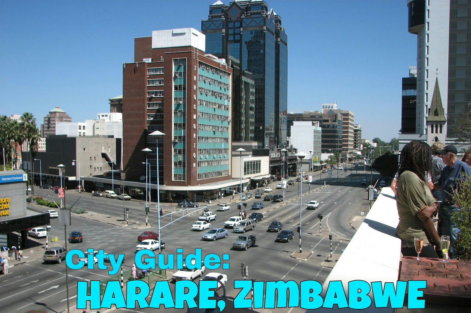 The heart of Zimbabwe - the capital of Harare 29