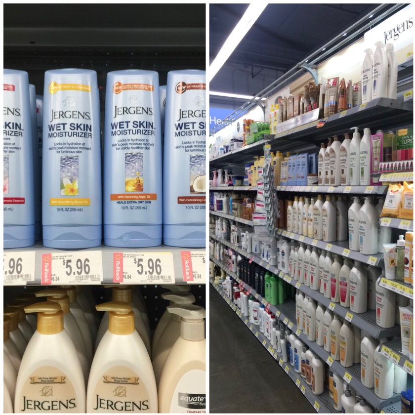 My Dry Skin Story | The Importance of Skin Hydration, Jergens wet skin, lotion, skin hydration, pink roses, lotions at walmart, new jergens lotion, walmart beauty section