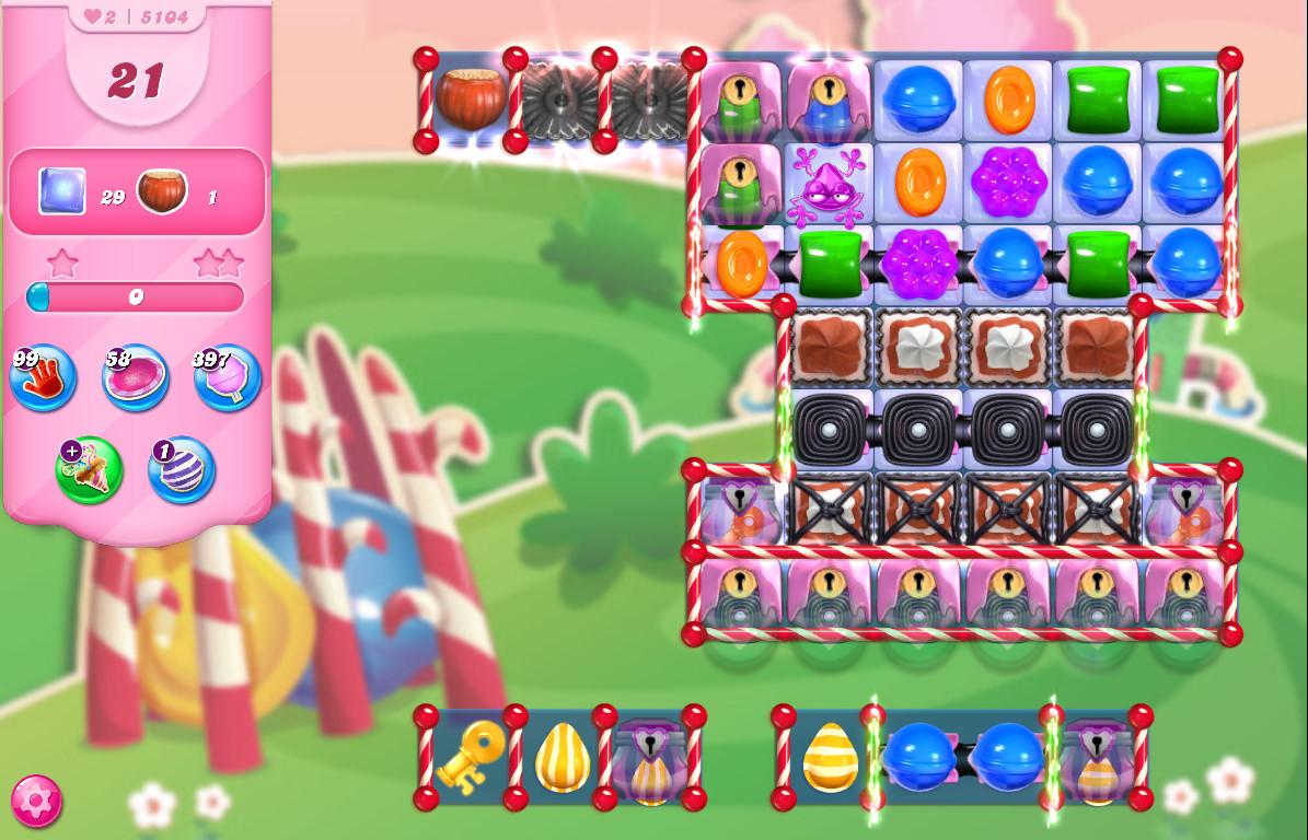 Candy Crush Saga level 5104
