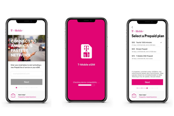 T-Mobile eSIM app launches on iOS for iPhone XS, iPhone XS Max and iPhone XR