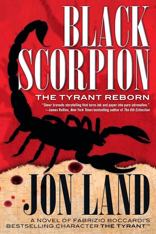 Black Scorpion Blog Tour: Interview with Jon Land - April 9, 2015