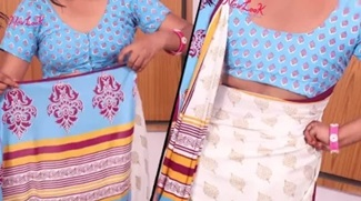Excellent Saree Wearing Tutorial for beginners