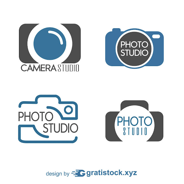 Free Download PNG Of  Photo-Studio-Logo-Collection