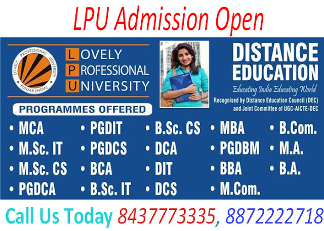 BA Distance Education From LPU in Chandigarh, Mohali