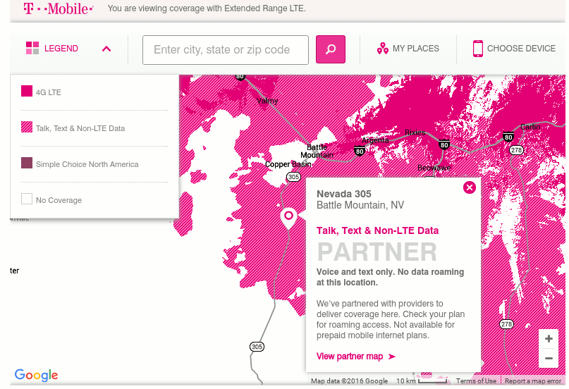 T-Mobile\'s Latest Coverage Maps Are The Worst | Prepaid Phone News