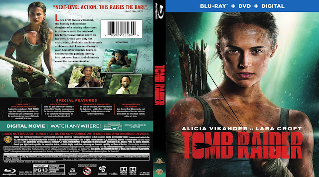 Tomb Raider (scan) Bluray Cover