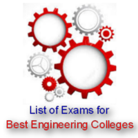 List of Exams for Best Engineering Colleges