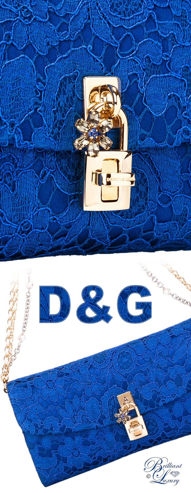 Brilliant Luxury ♦ Dolce & Gabbana Dolce Clutch