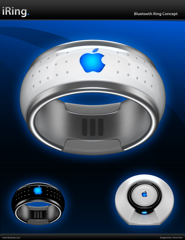 Apple iRing The Bluetooth Ring Concept - iGadgetware- Get