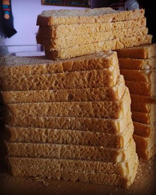 il mio pane bianco!