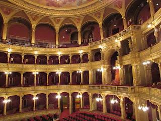 Interior Ópera de Budapest 2