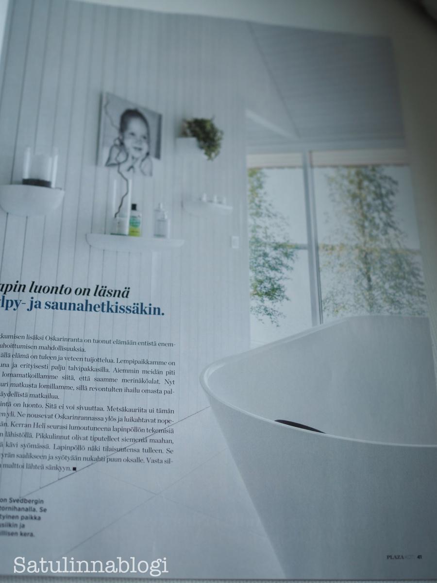 kylpyhuone maisemaikkunalla