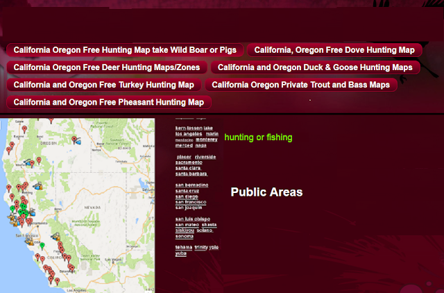 hunting public lands, hunting clubs and hunting ranches California and Oregon