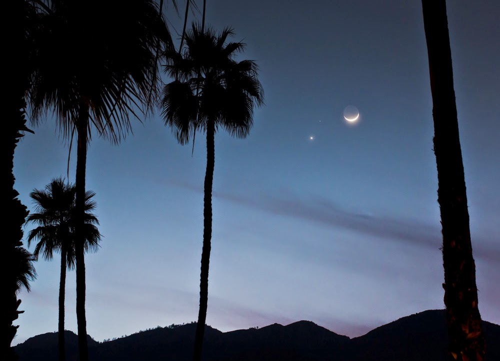 Astronomy Israel: Did You Catch the Triple Conjunction at