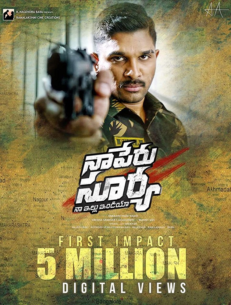 Naa Peru Surya Naa Illu India 2018 Dvdscr Telugu Full Movie Watch
