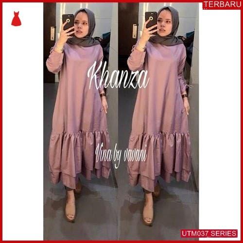 UTM037T58 Baju Tunik Muslim Khanza UTM037T58 025 | Terbaru BMGShop