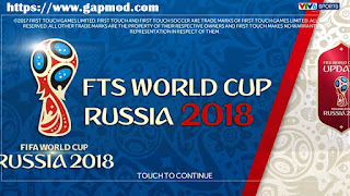 FTS WORLD CUP RUSSIA 2018 by ZenM Apk Data Obb