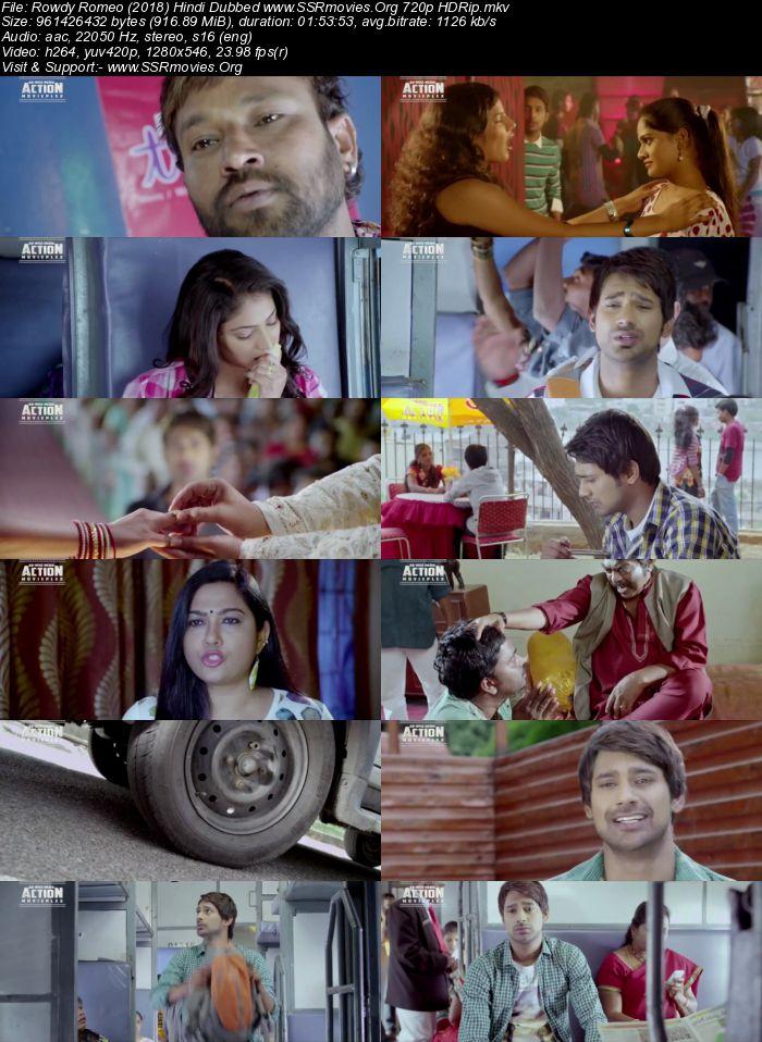 Rowdy Romeo (2018) Hindi Dubbed 720p HDRip