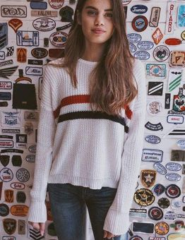 Casual Knitted Sweater for Women