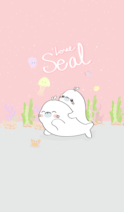 Love Seal (Pink ver.)