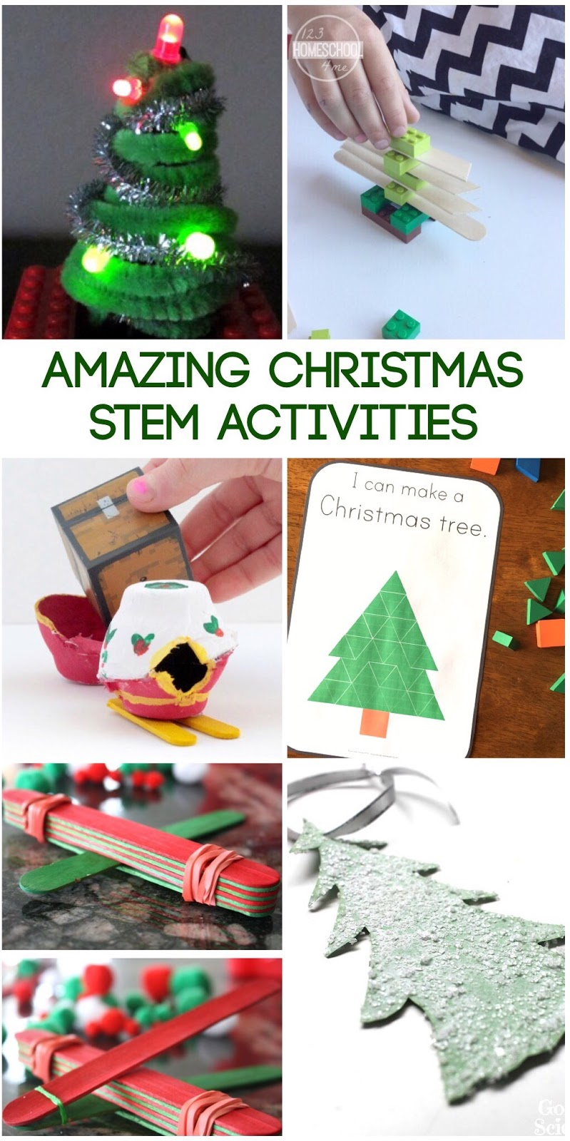 20 Amazing Christmas STEM Activities