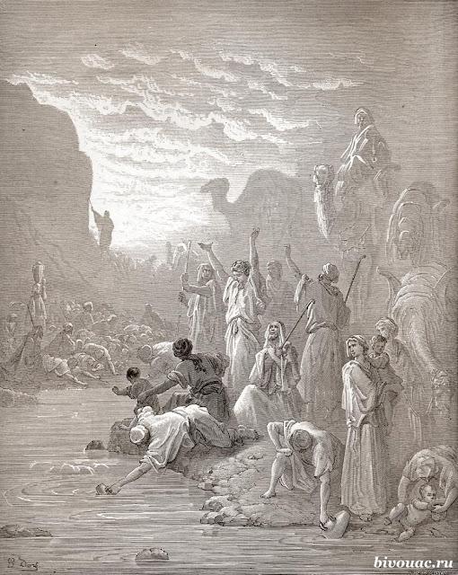 Библия Исход, История, Исход евреев из Египта, История Исхода,