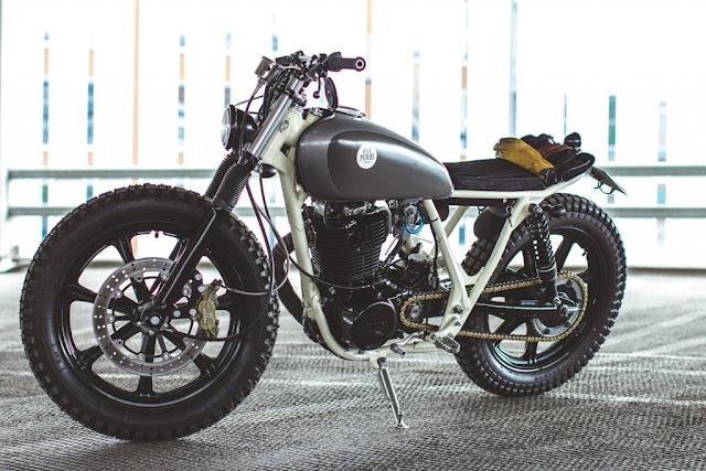 Vài gợi ý cách độ Yamaha SR500 1980 lên Scrambler