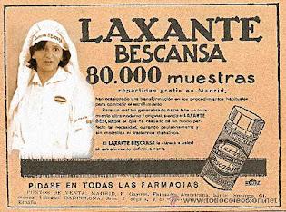 """Carolina Bescansa participa en la publicidad del l""""Laxante Bescansa"""""""