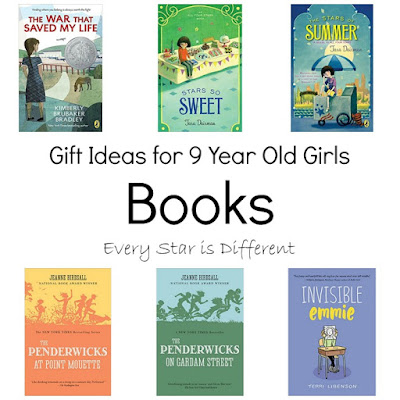 Gift Ideas for 9 Year Old Girls-Books