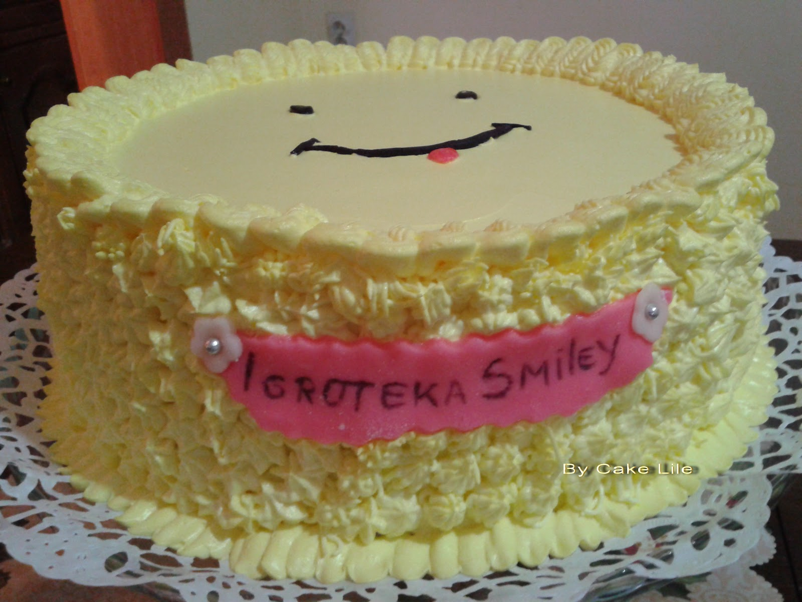Torti i Kolaci-Sweet and savory kitchen.: Happy Smiley torta