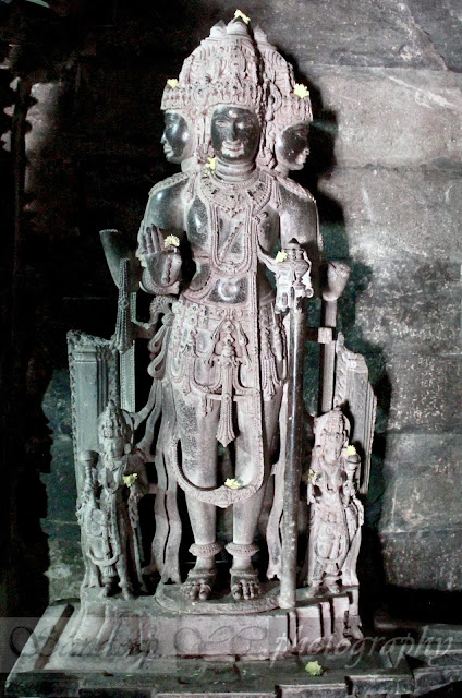 Statue of Brahma -  termed as the creator of the universe with 4 heads