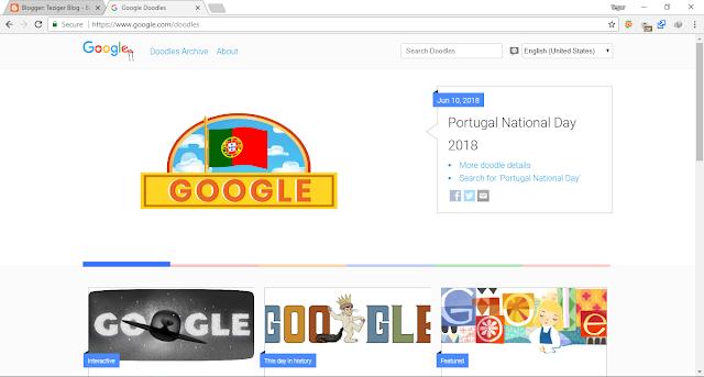 game tersembunyi di google