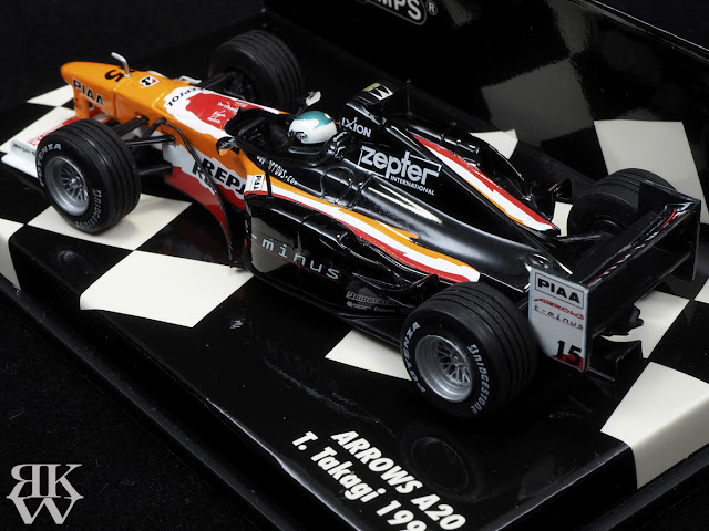 MINICHAMPS 1/43 ARROWS A20 高木虎之介