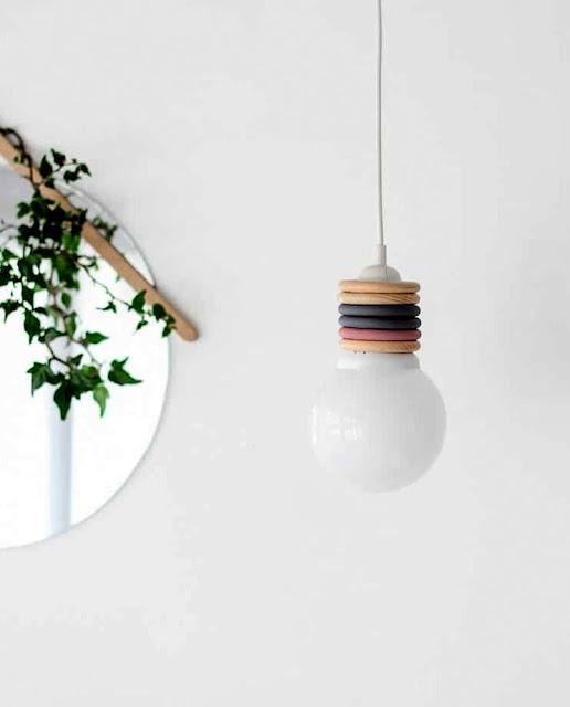 Luminária Pendente DIY