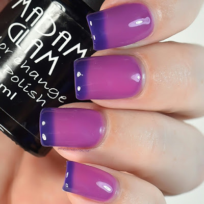 madam glam girls night out swatch