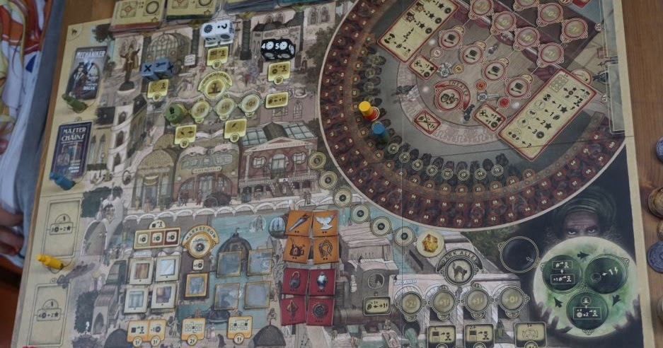 Hiew's Boardgame Blog: Trickerion image