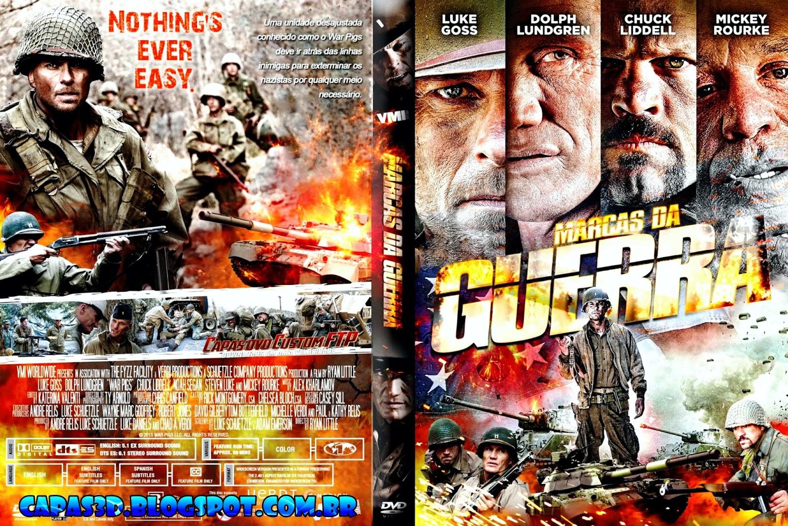 Filme Marcas Da Guerra in marcas da guerra - war pigs (2016) capa dvd - giga in filmes