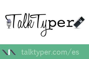 Talktyper, dictados en línea