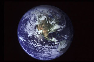 Science, Space, Nasa, Earth seen from space.