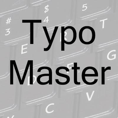 Typo Master