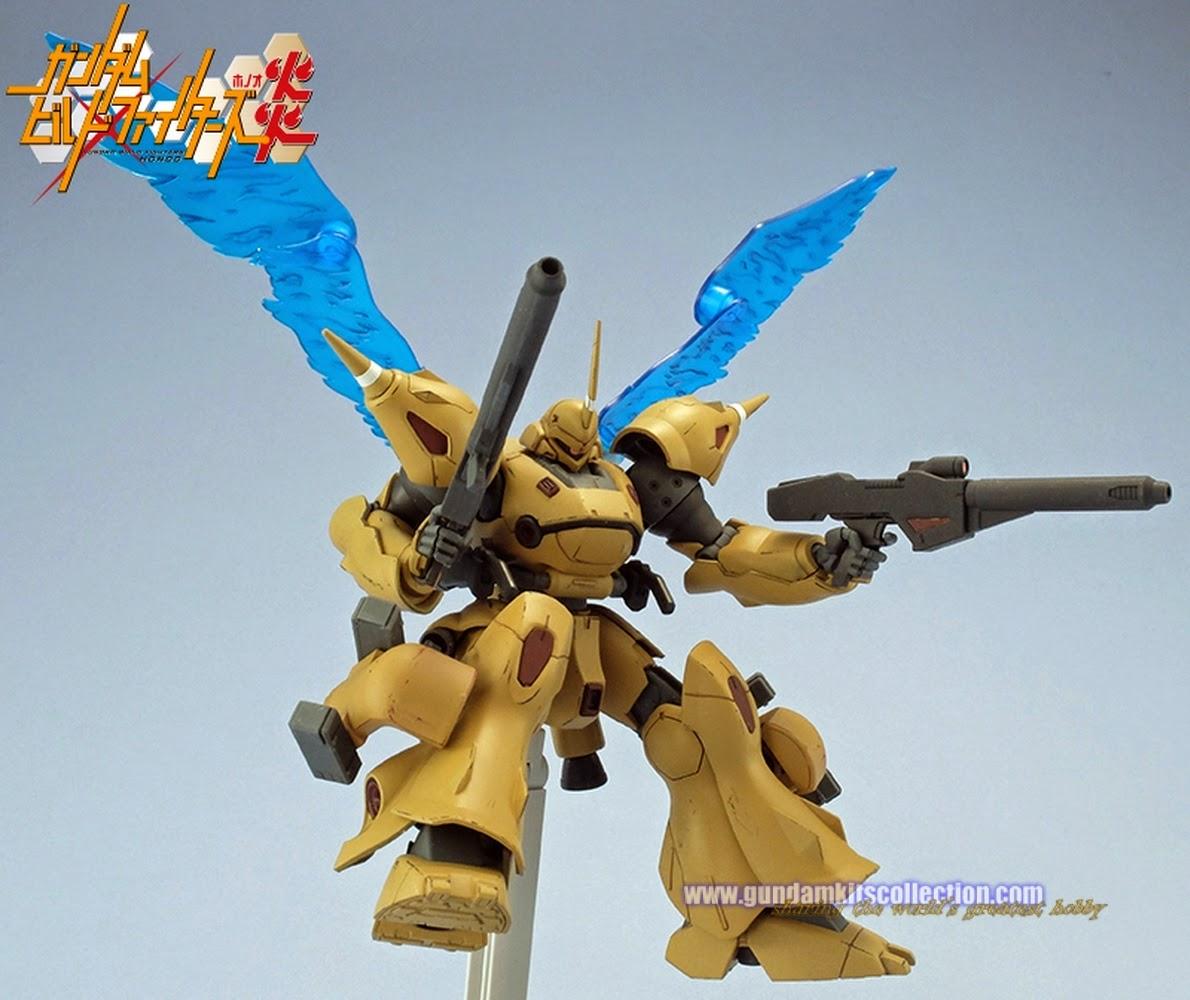 Gundam build fighters honoo customized model kits gundam for Domon in gundam build fighters