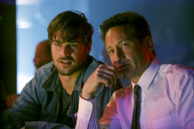 "Review of the David Duchovny drama, ""Aquarius."""