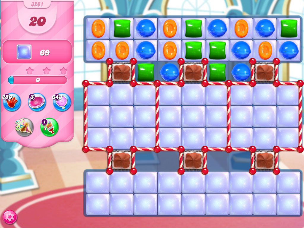 Candy Crush Saga level 3261