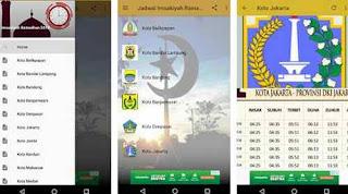 Aplikasi Jadwal imsakiyah ramadhan 1439H 2018