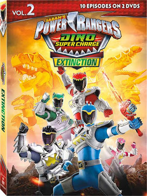 Power Rangers Dino Super Charge Extinction Vol 2 [Latino]