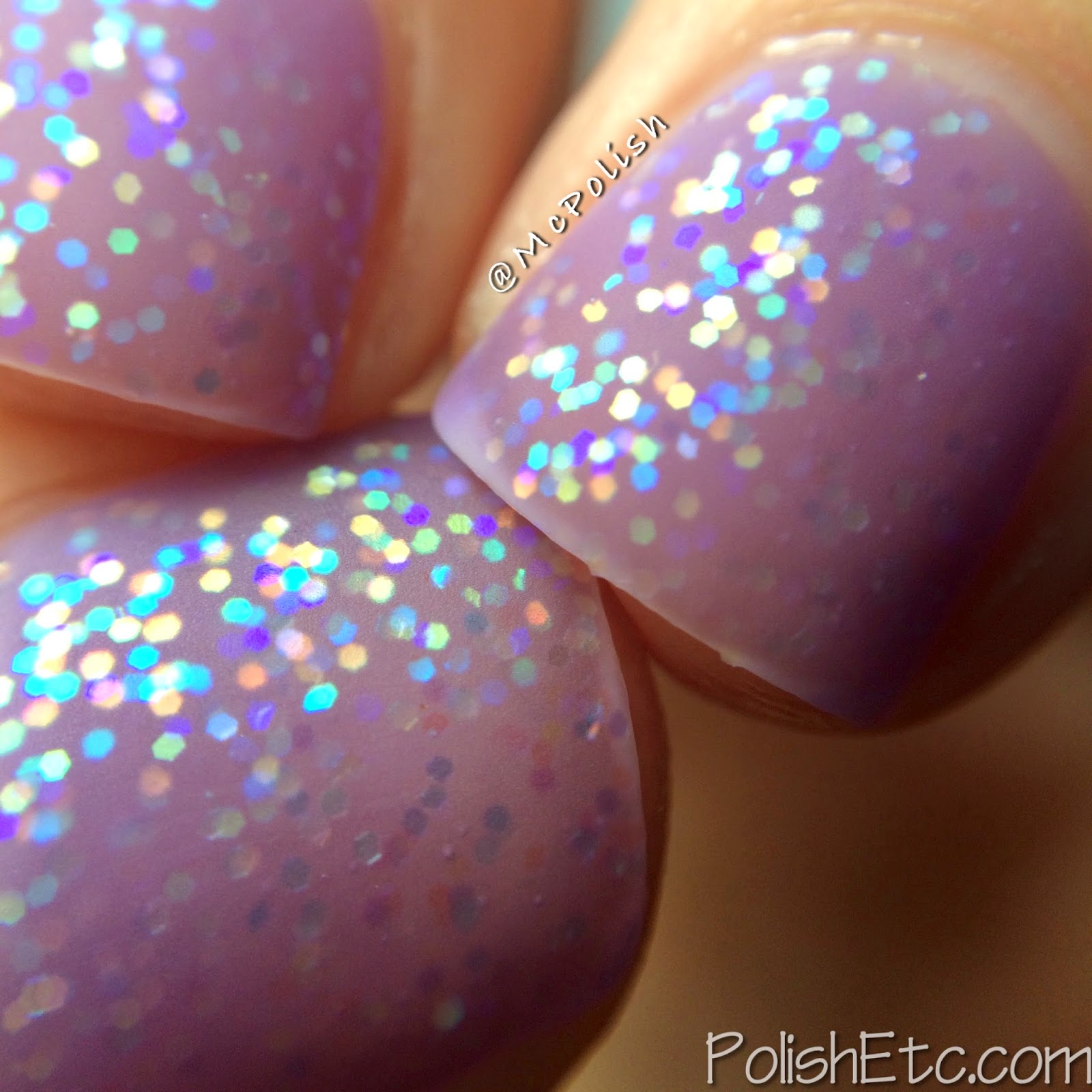Pure Ice - New Year New Hue Jellies - Purple Haze - McPolish - Matte Macro