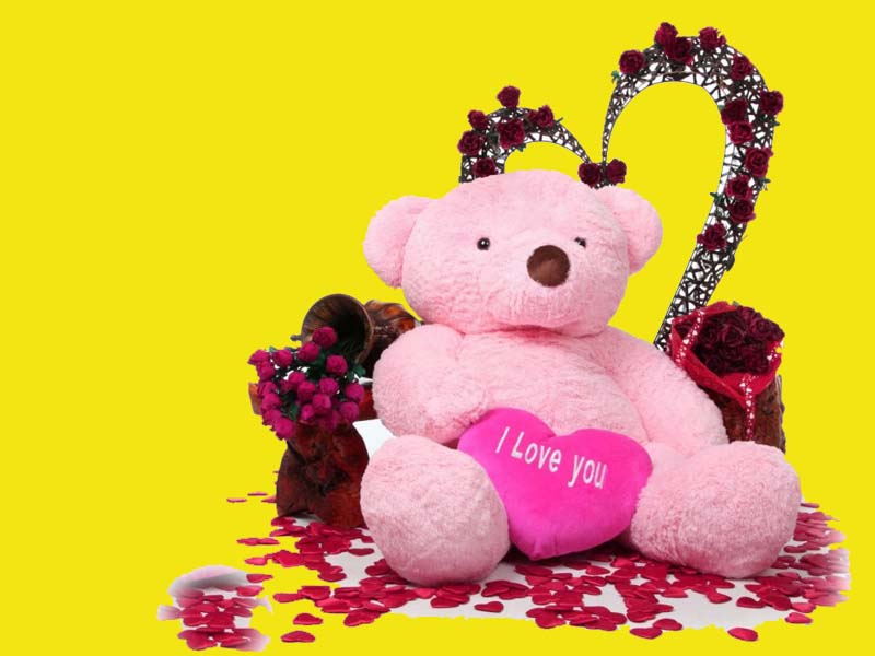 The Fresh Wallpaper Lovely And Beautiful Teddy Bear Wallpapers