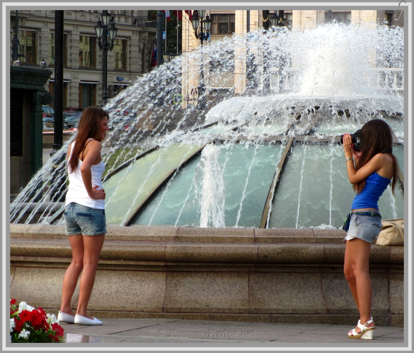 Beautiful Moscow Girls and Hot Summer